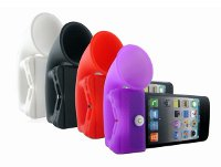 Silicone Stand & Horn for iPhone 4G